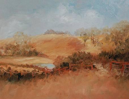 Prairie Gate by Donna Pierce-Clark