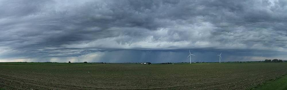 Prairie Panorama by Claude Oesterreicher