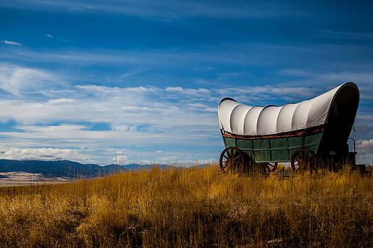 Prairie Schooner by Sally Bauer