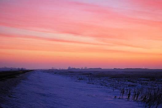 Prairie Sunrise by Don Mann