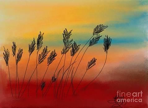 Prairie wind by Brenda Mayall