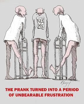 Prank Turns Frustrating by R  Allen Swezey