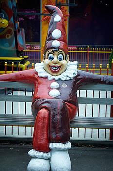 Prater  Clown by Blaise Pellegrin