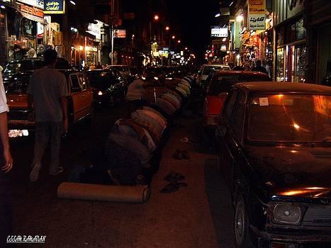 Pray In Street by Essam Ramadan