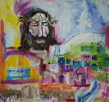 Praying for Peace for Jerusalem by Paula Stacy Adams