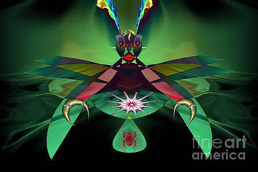 Praying Mantis by Max Cooper