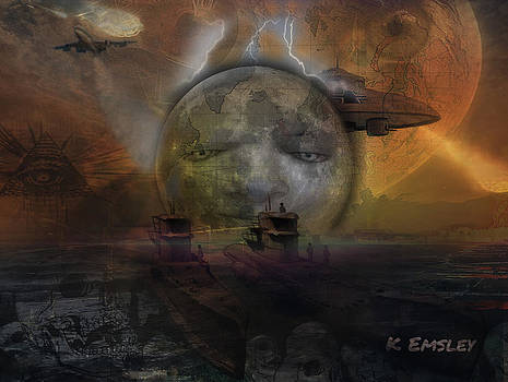 Prediction of the  future by Karl Emsley