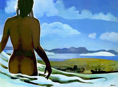 Premonition - Bream Bay Goddess by Patricia Howitt