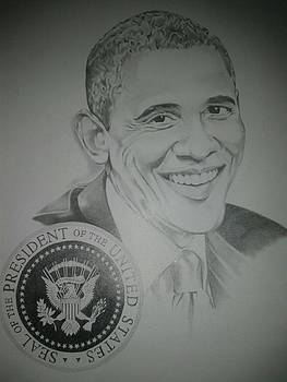 President Obama by Kenneth Young