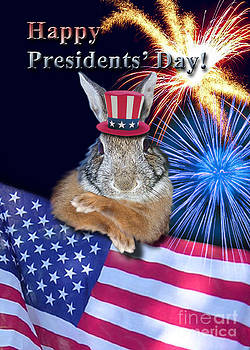 Jeanette K - Presidents Day Bunny Rabbit