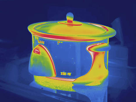 Pressure Cooker, Thermogram by Science Stock Photography