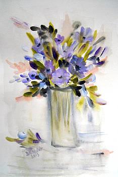 Pretty Purple by Dorothy Maier