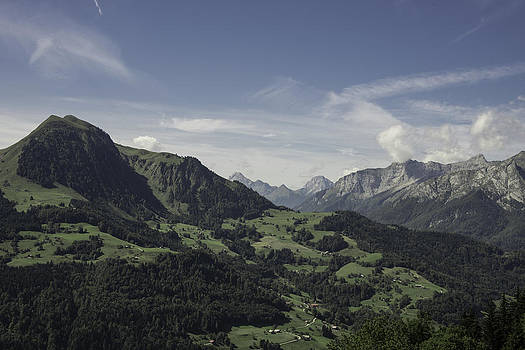 Pretty sight of the French Alps by Patrick Kessler