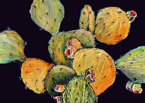 Prickly Fruit by JAXINE Cummins