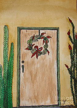 Marcia Weller-Wenbert - Prickly Pear Wreath