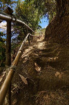 Primitive Stairway by Mario Legaspi
