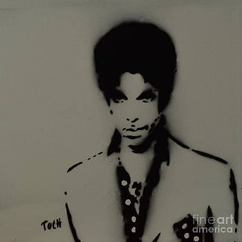 Prince Spray Art by Laura Toth