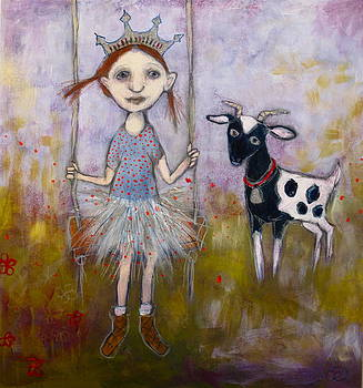 Princess and the Goat by Cindy Riccardelli