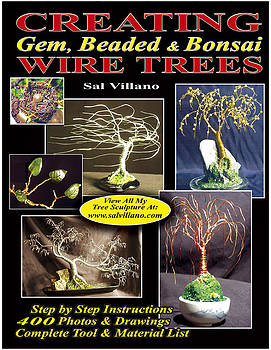 PRINTED BOOK Creating Gem Beaded and Bonsai Wire Trees by Sal Villano