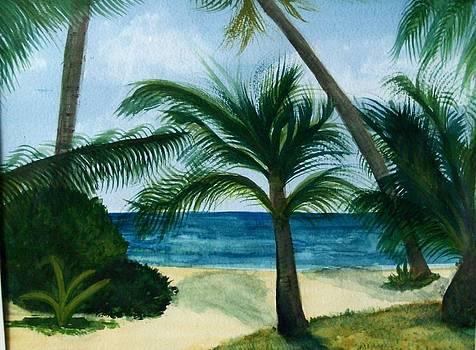 Private Beach by Chip Picott