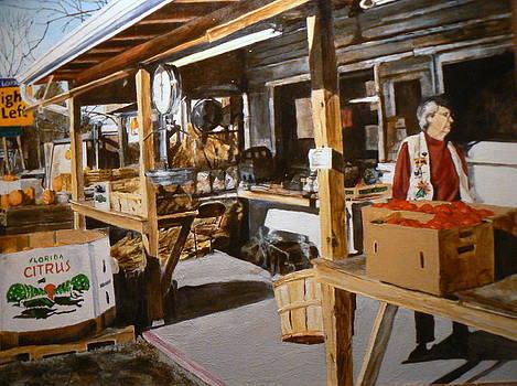 Produce Market by Thomas Akers