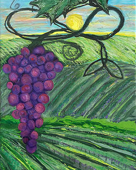 Anne Cameron Cutri - Prophetic Message Sketch 18 Vineyard Infinity Trinity