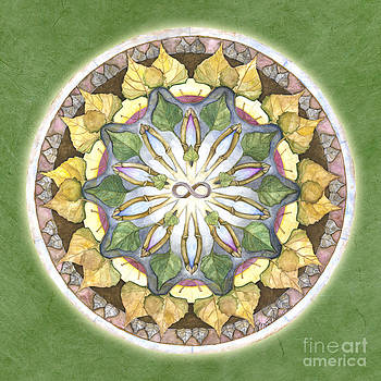 Prosperity Mandala by Jo Thomas Blaine