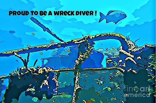John Malone - Proud to be a Wreck Diver
