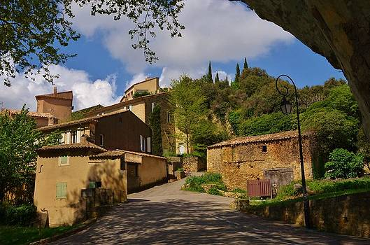 Provencal village by Dany Lison