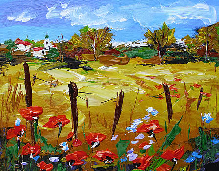 Provence poppies by Ivaylo Georgiev