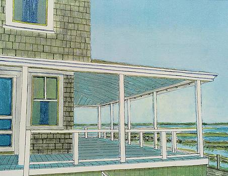 Provincetown Porch by David Hinchen