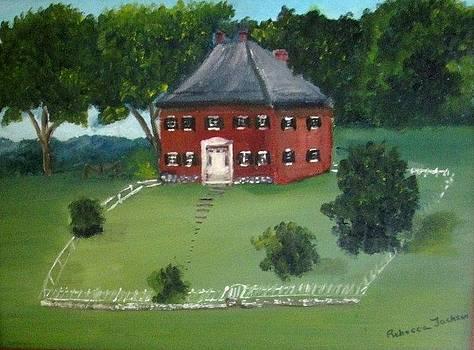 Pry Farm at Antietam Md. by Rebecca Jackson