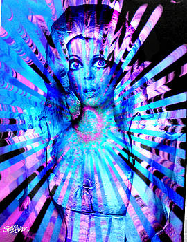 Psychedelic Barbie by Seth Weaver