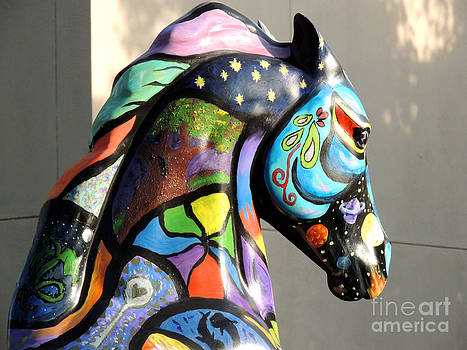 Psychedelic Equine by Pamela Rivera
