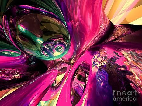 Alexander Butler - Psychedelic Fun House Abstract