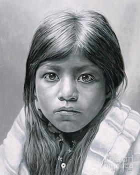 Pueblo Girl by Stu Braks