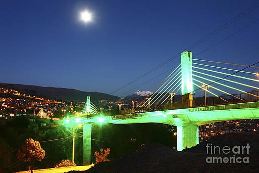 James Brunker - Puentes Trillizos Suspension Bridge