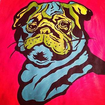 Pug with Pride by Shahin Shaygan