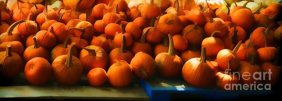 Pumpkin Harvest by Donald Fleming