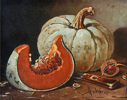 Pumpkins by Dusan Vukovic