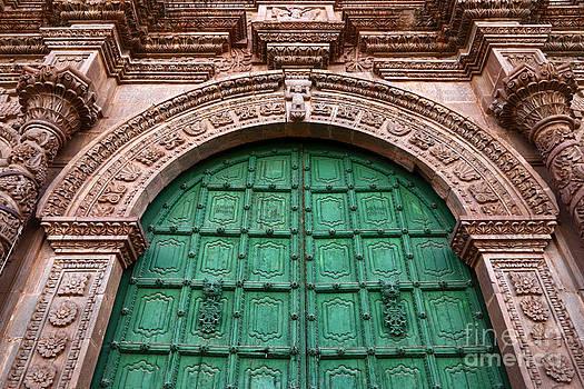 James Brunker - Puno Cathedral Door 2