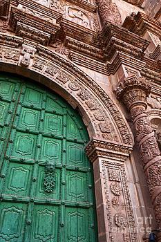 James Brunker - Puno Cathedral Door 3