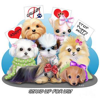 Puppies Manifesto by Catia Cho