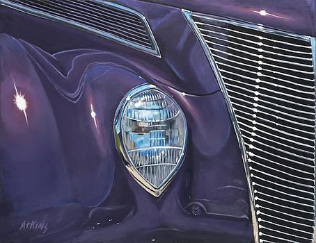 Purple 37 by Jack Atkins