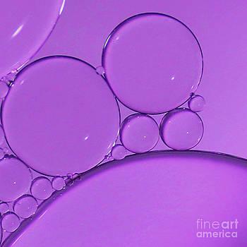 Purple Bubbles by Karin Ubeleis-Jones