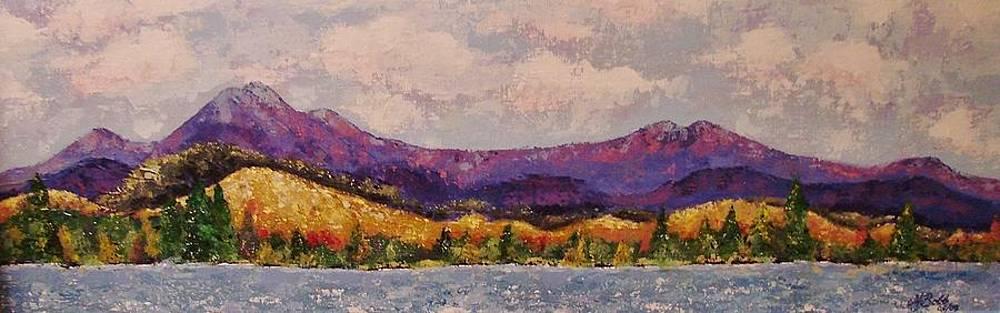 Purple Mountain Majesty by Margaret Bobb