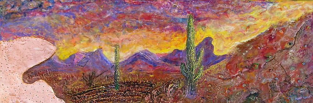 Purple Mountains Majesty by Joe Bourne