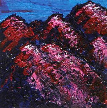 Marcia Weller-Wenbert - Purple Mountains