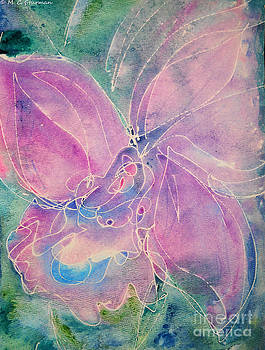 Purple Orchid by M C Sturman