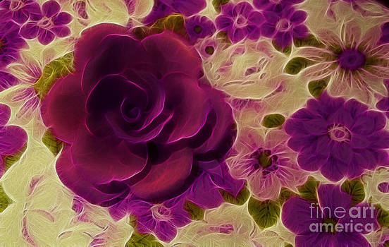 Purple Rose by Kathie McCurdy